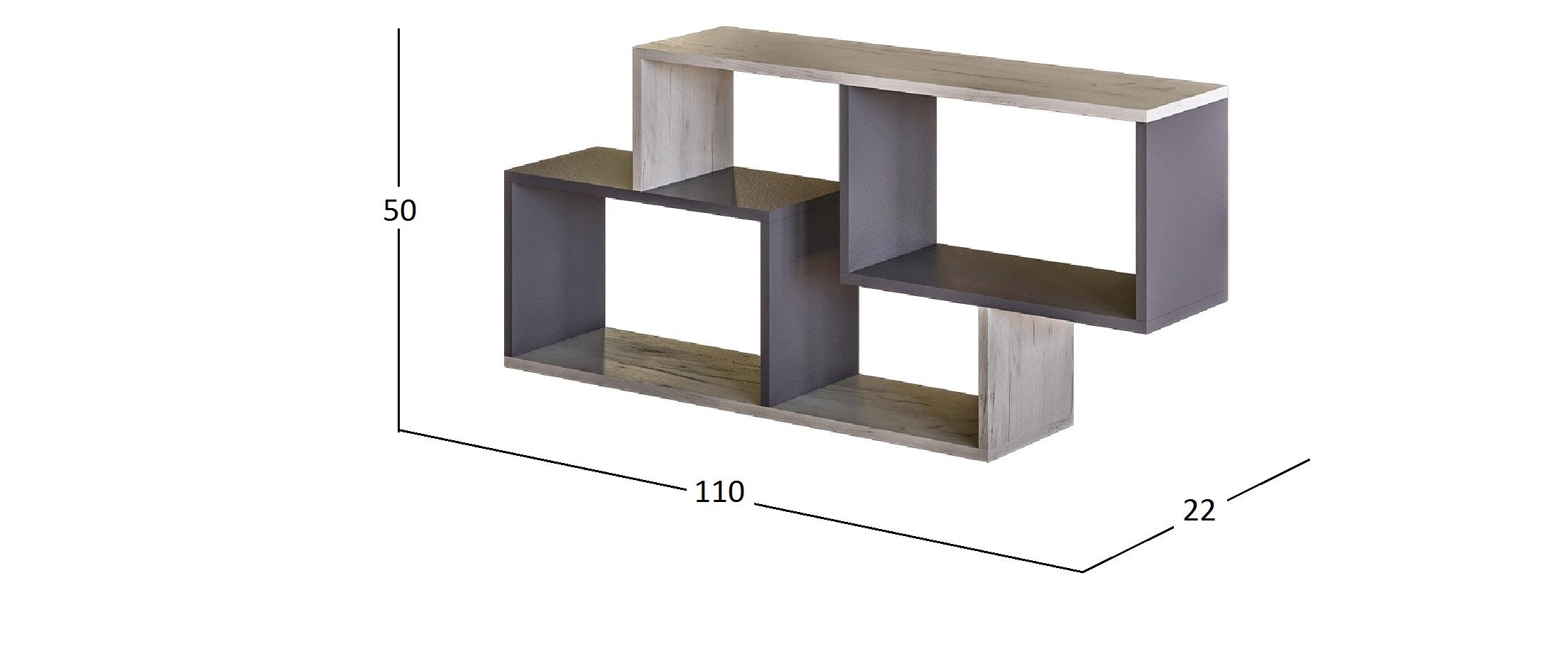 Полка для книг Крафт Модель 502